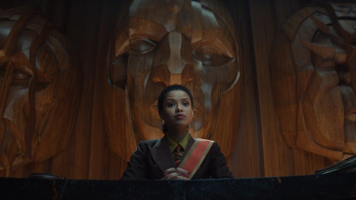 """Judge Renslayer (Gugu Mbatha-Raw) in """"Loki"""""""