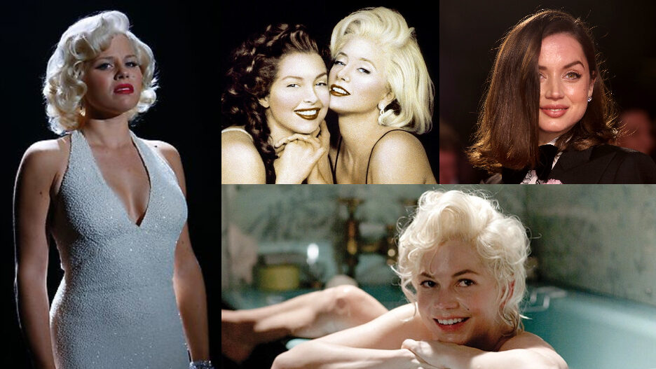 Actresses Who've Played Marilyn Monroe 2