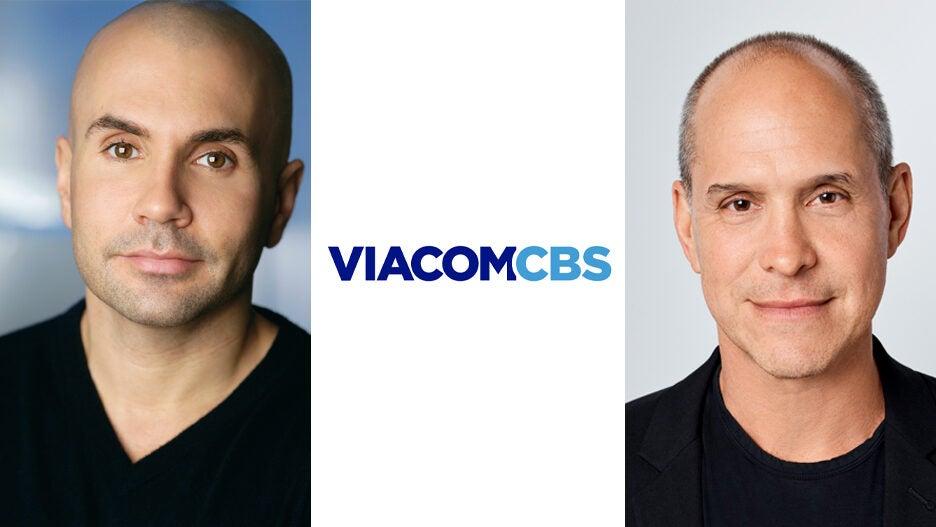 Chris McCarthy Brian Robbins ViacomCBS