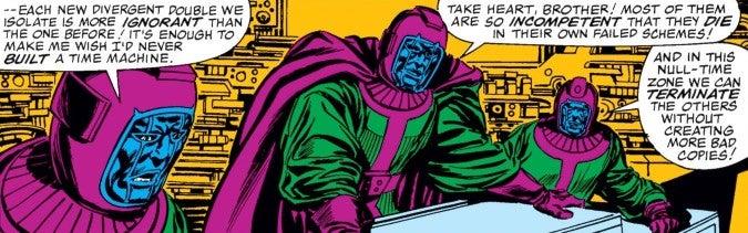 Council of Kangs Avengers #267 Marvel Comics