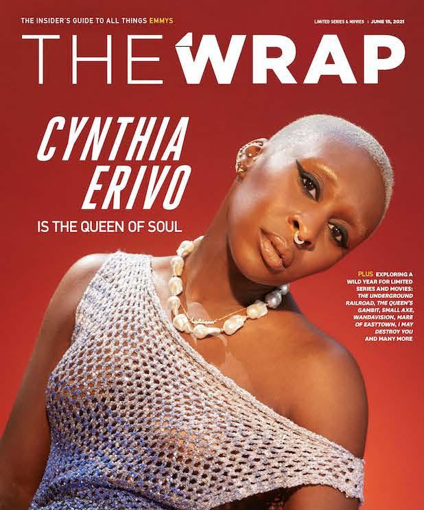 Cynthia Erivo EmmyWrap cover