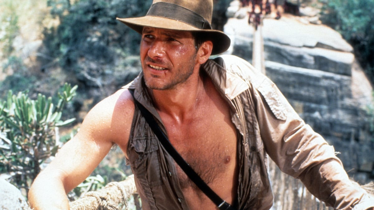 Harrison Ford In 'Indiana Jones And The Temple Of Doom'