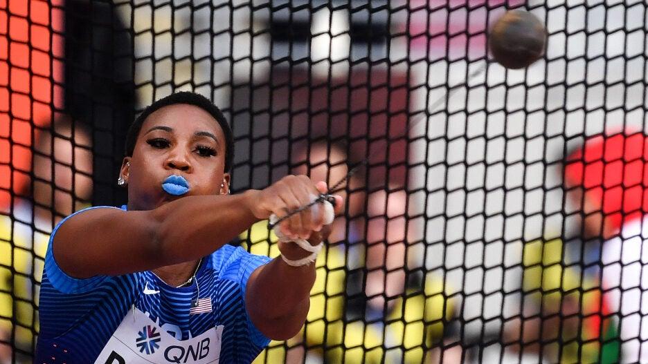 Gwen Berry Olympics Hammer toss