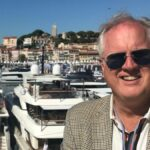 Rolf Smith, yacht broker, at Cannes