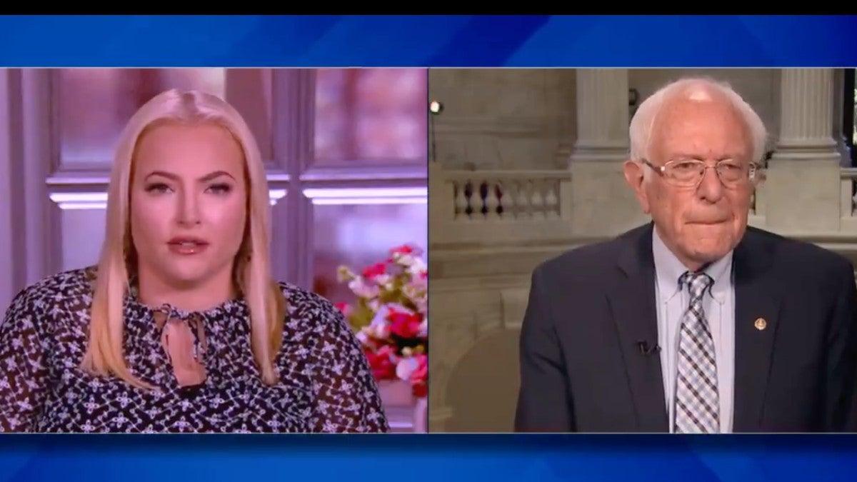 Meghan McCain Bernie Sanders