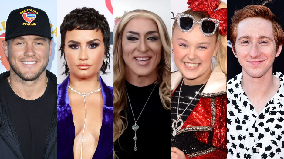 Queer Hollywood 2021 lgbtq coming out