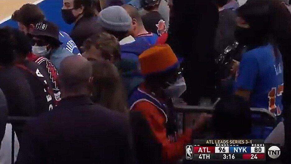 Spike Lee Knicks Game Loss
