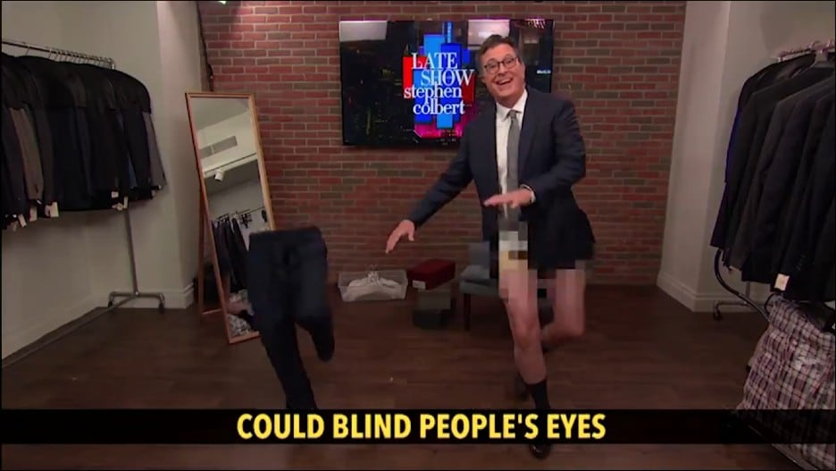 Colbert Celebrates First Studio Audience in 15 Months With His Singing, Dancing Pants (Video).jpg