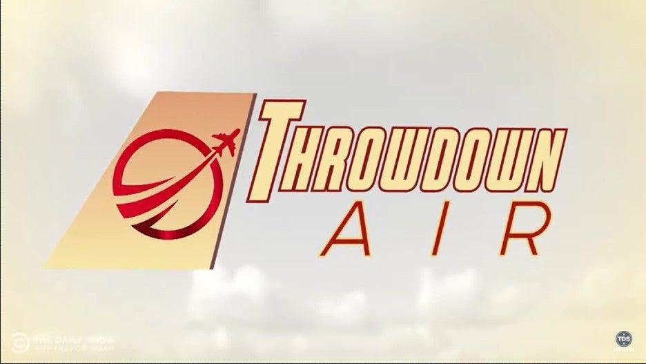 The Daily Show Throwdown Air