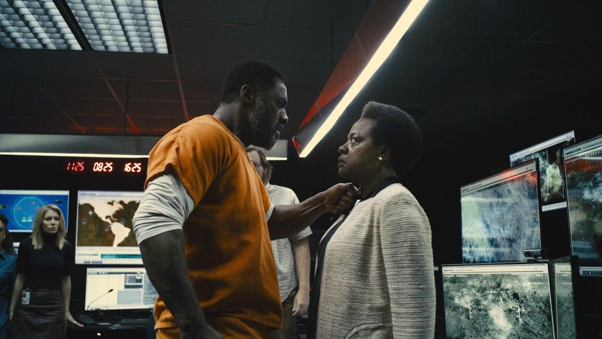 The Suicide Squad Idris Elba Viola Davis