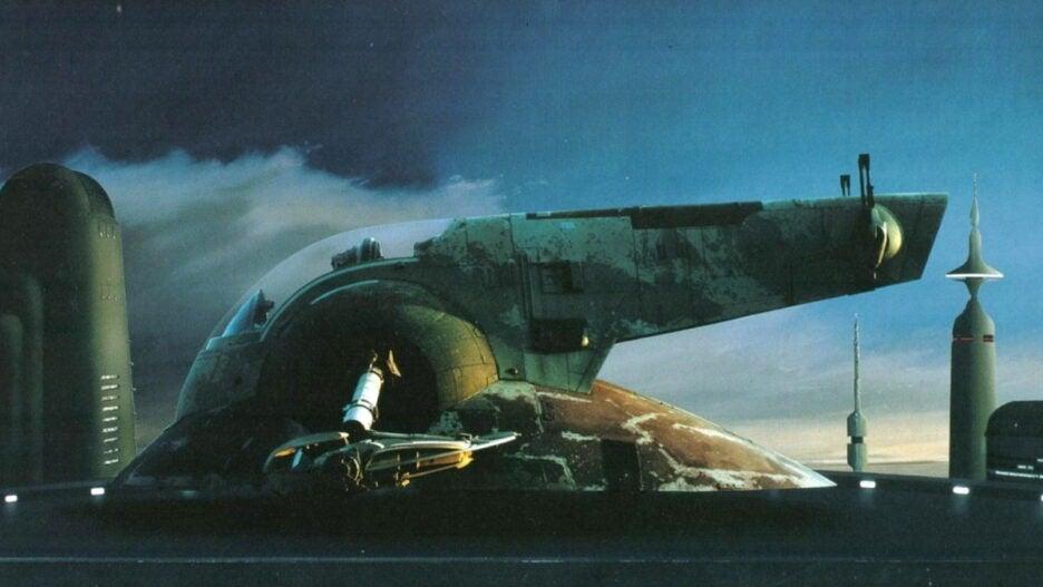 Boba Fett's Starship Slave 1