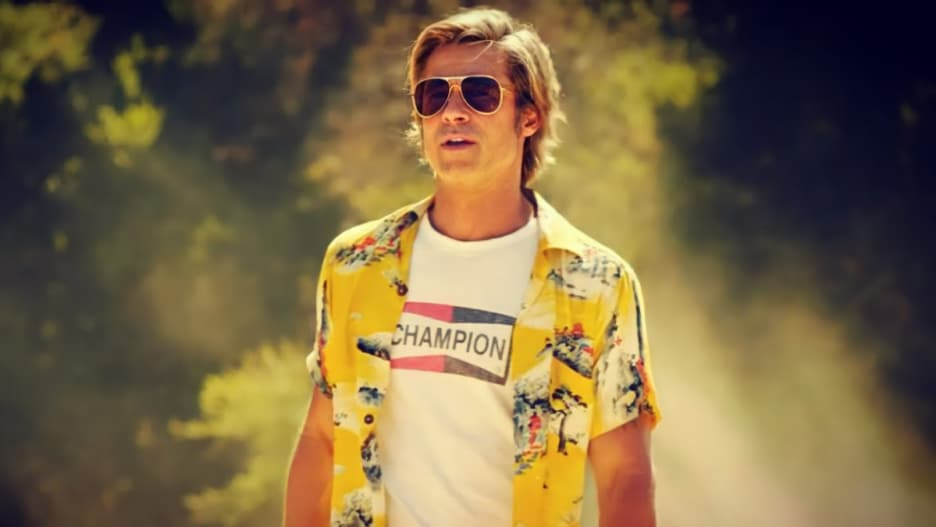 Cliff Booth in Once Upon a Time...In Hollywood (2019) was interesting.