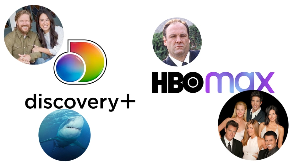 discovery hbo max content library