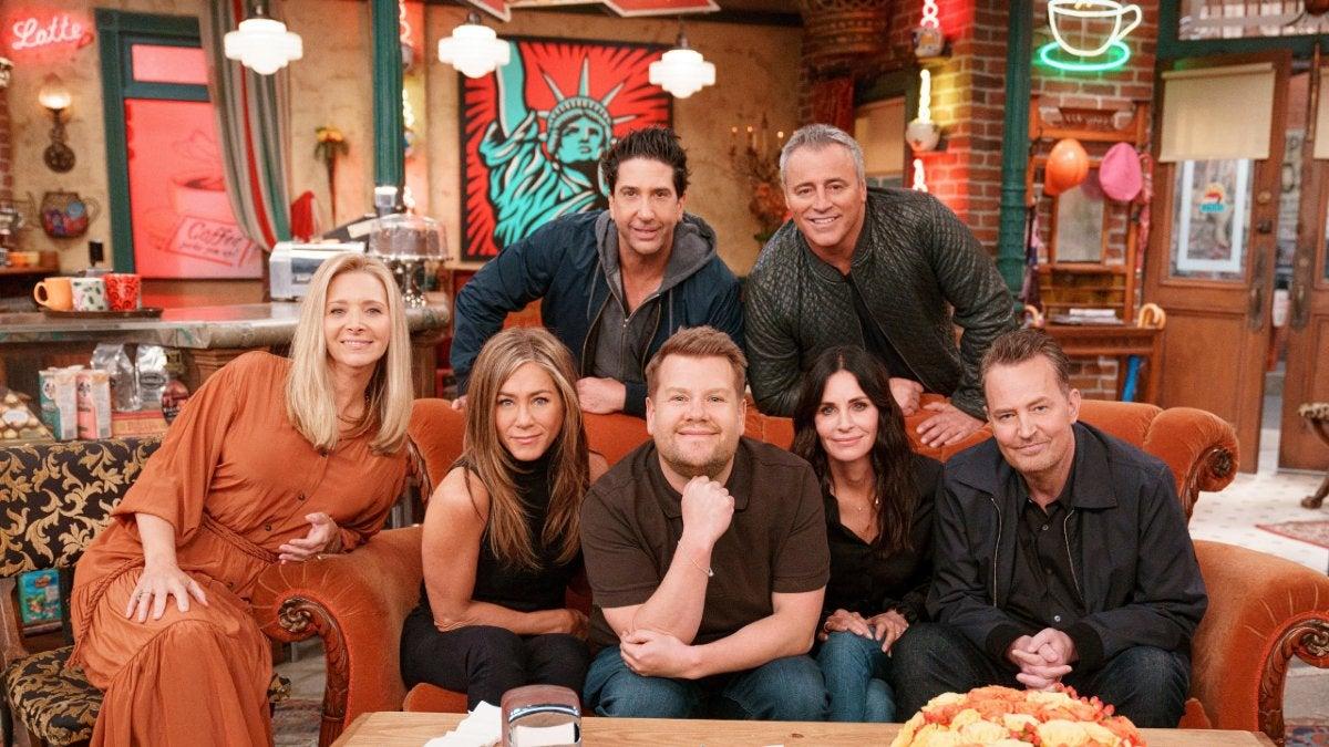 'Friends' Reunion: Matt LeBlanc Offers a Rachel Revelation in 'Late Late Show' Segment (Video).jpg