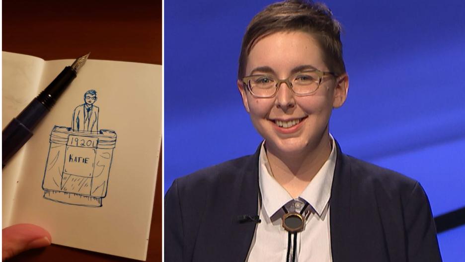 Jeopardy! Katie sekelsky