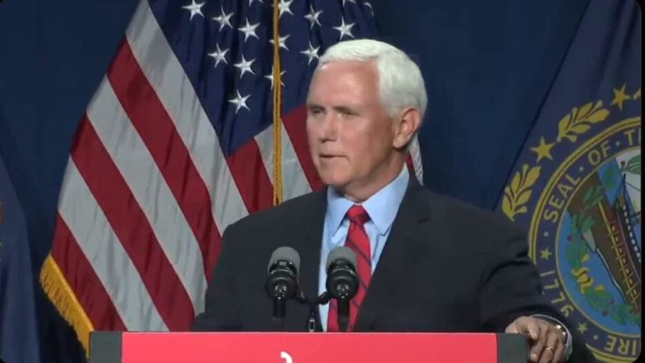 Mike Pence New Hampshire speech