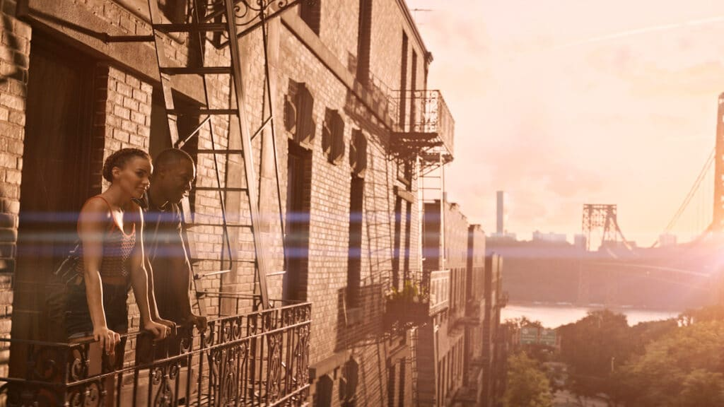 IN THE HEIGHTS Leslie Grace Corey Hawkins When the Sun Goes Down