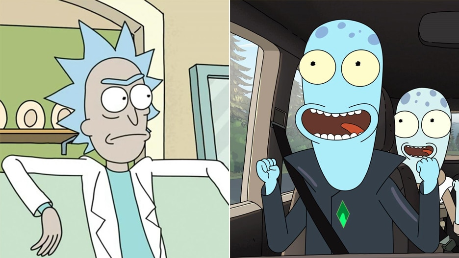 rick and morty solar opposites
