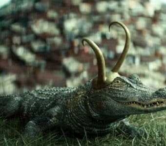 Alligator Loki Tom Hiddleston