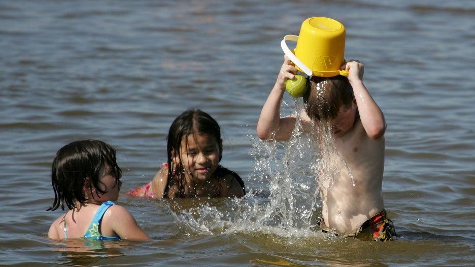 California beach summer 2021 kids