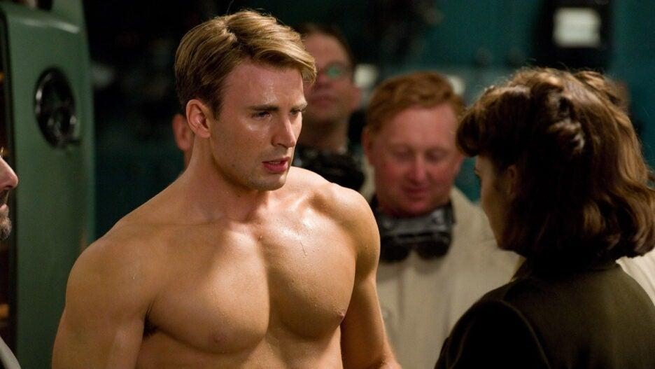 Captain America The First Avenger Steve Rogers