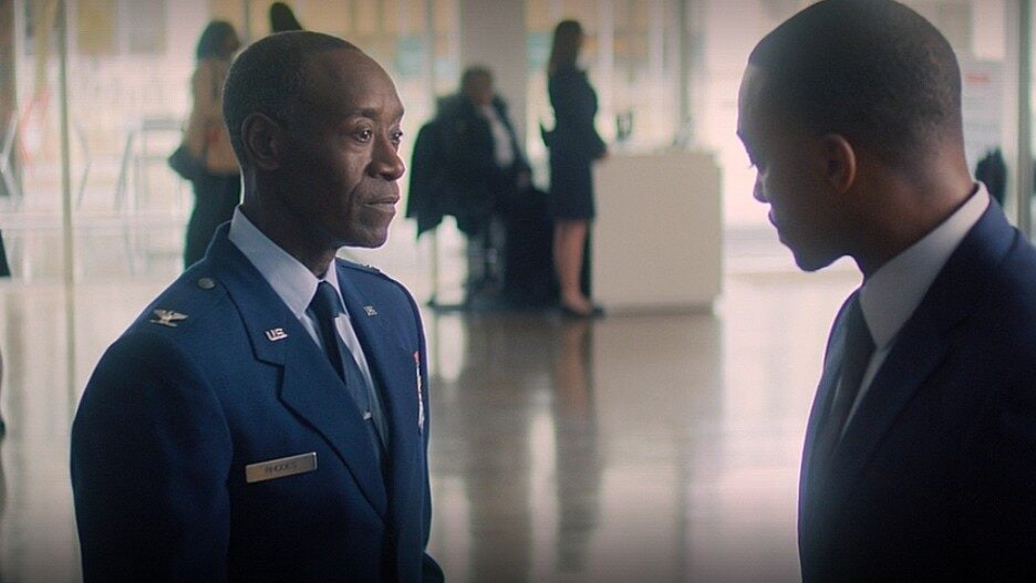 Don Cheadle Falcon and the Winter Soldier