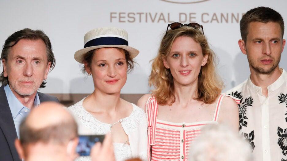 """Bergman Island"" Press Conference - The 74th Annual Cannes Film Festival"