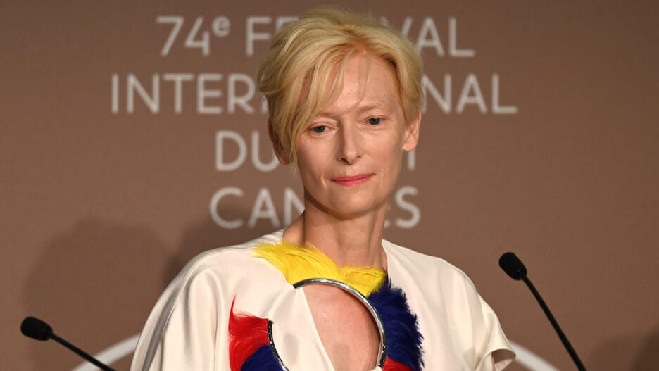 Tilda Swinton Memoria Press Conference Cannes