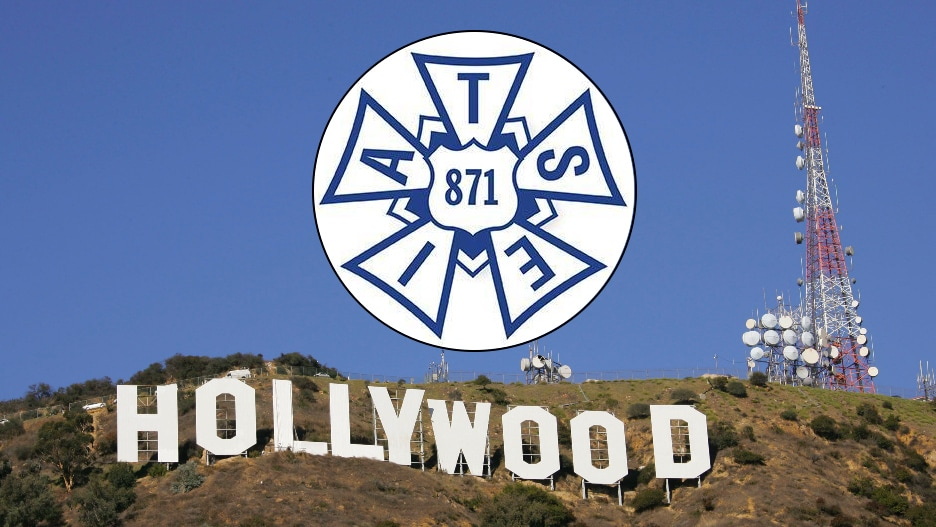 Hollywood sign IATSE