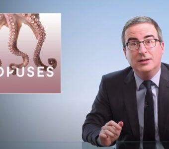 John Oliver on octopuses