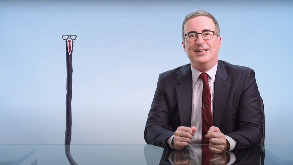 John Oliver's '20 Foot-Long Animated Hose Dong' Rallies Support for That Danish Show About a Man With a Huge Penis (Video).jpg