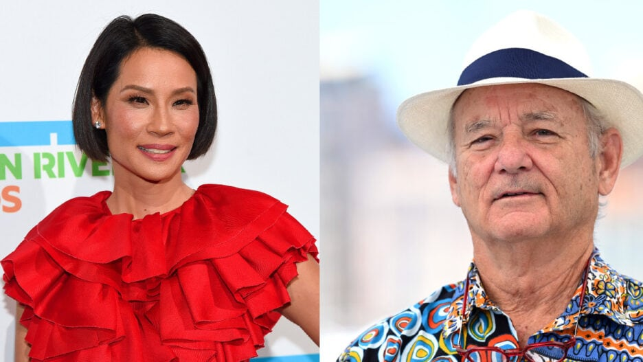 Lucy Liu and Bill Murray