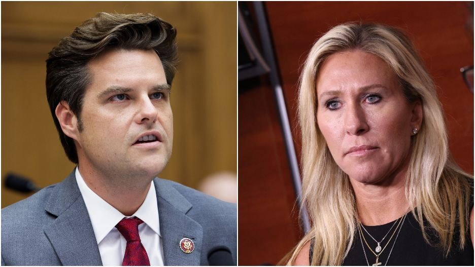 Marjorie Taylor Greene, Matt Gaetz Lose Rally Venue After It Learned of Their Involvement