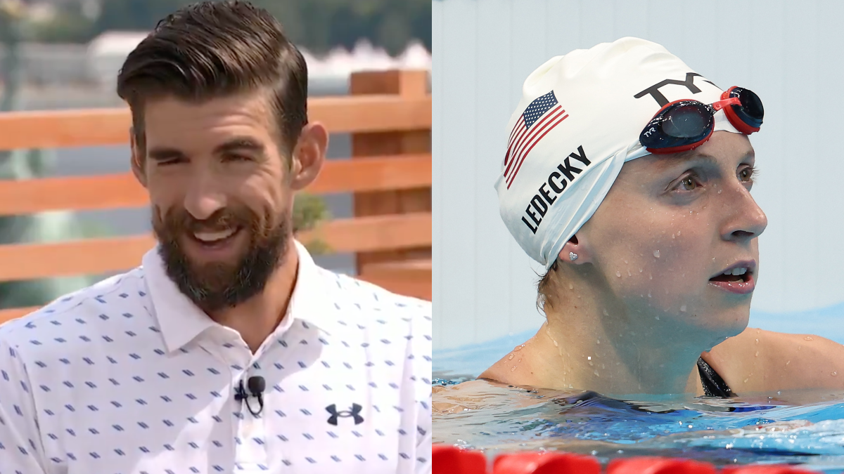 Michael Phelps Says Olympic Swimmer Katie Ledecky Would've 'Destroyed' Him (Video).jpg