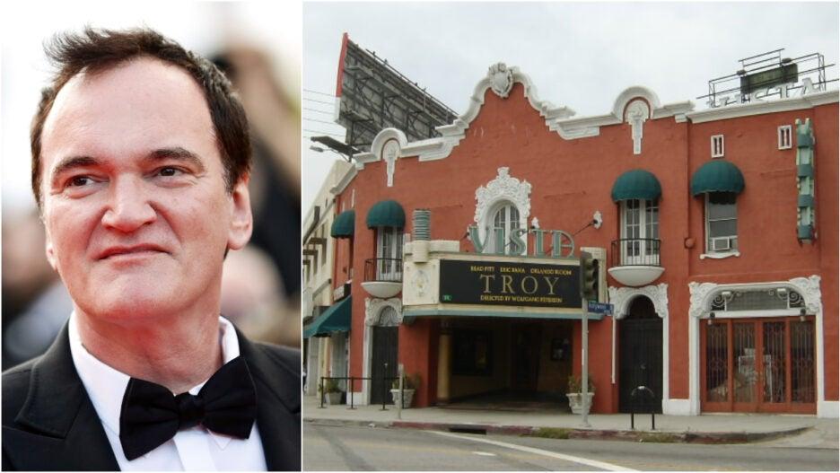 Quentin Tarantino Vista Theatre