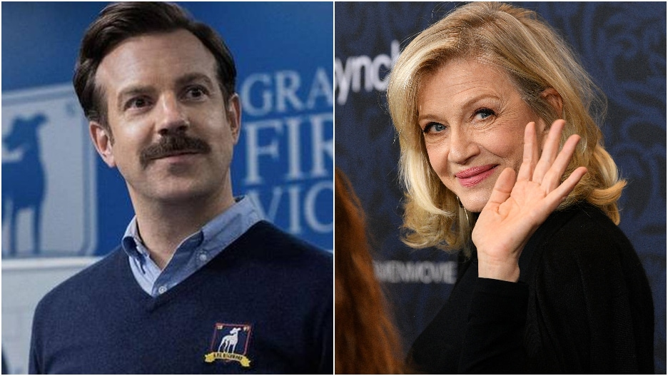 Ted Lasso Scores Official Date Invite From Diane Sawyer: 'I'm in. Your Move'