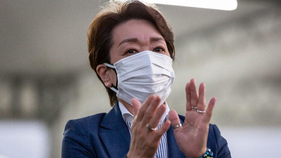 Tokyo olympics 2021 Seiko Hashimoto