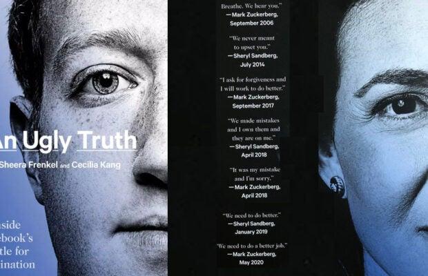 An Ugly Truth Mark Zuckerberg Sheryl Sandberg Facebook