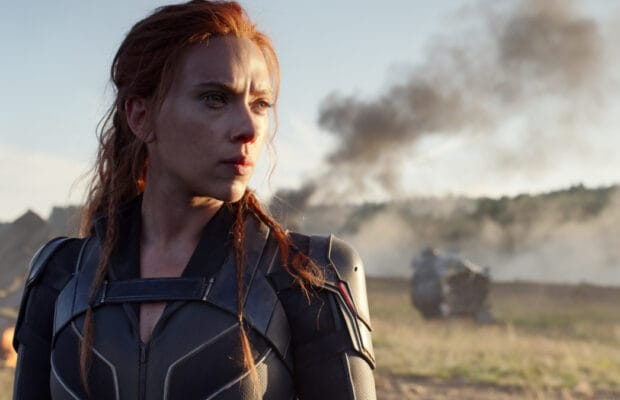how did natasha get away at the end of black widow