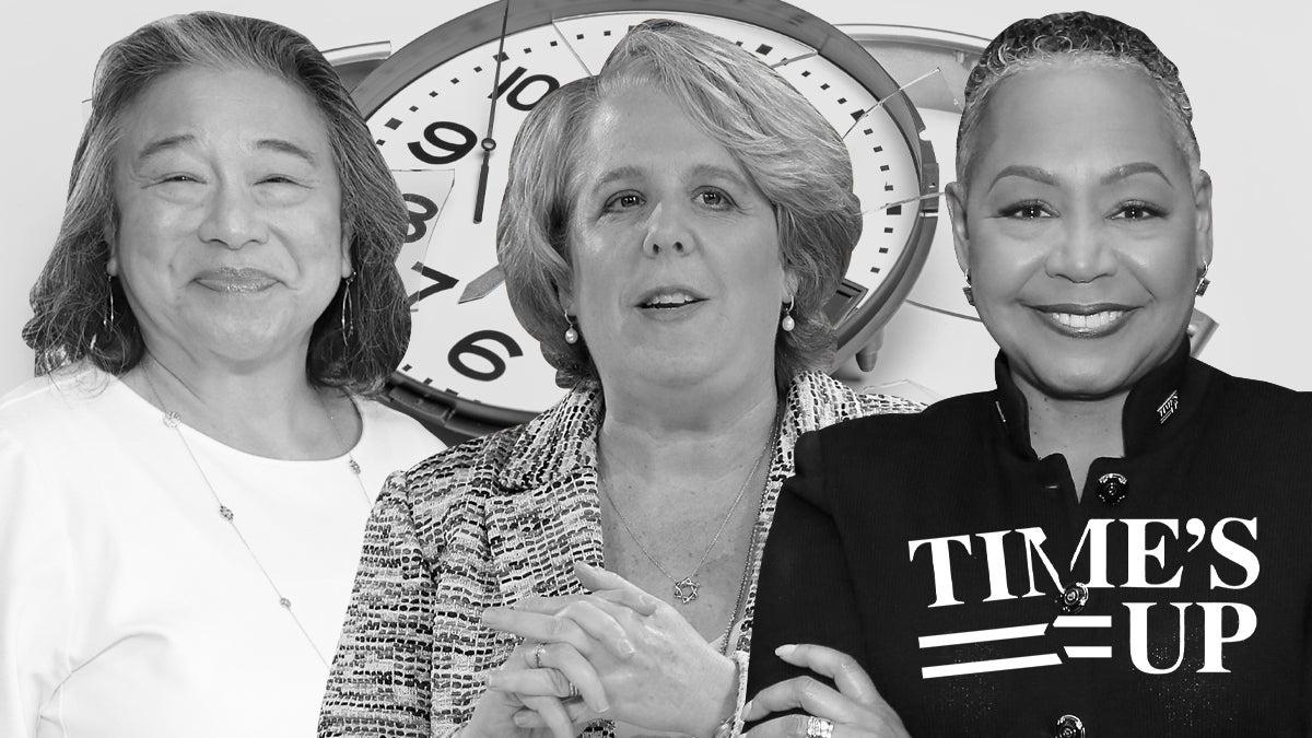 Time's Up Tina Tchen Roberta Kaplan