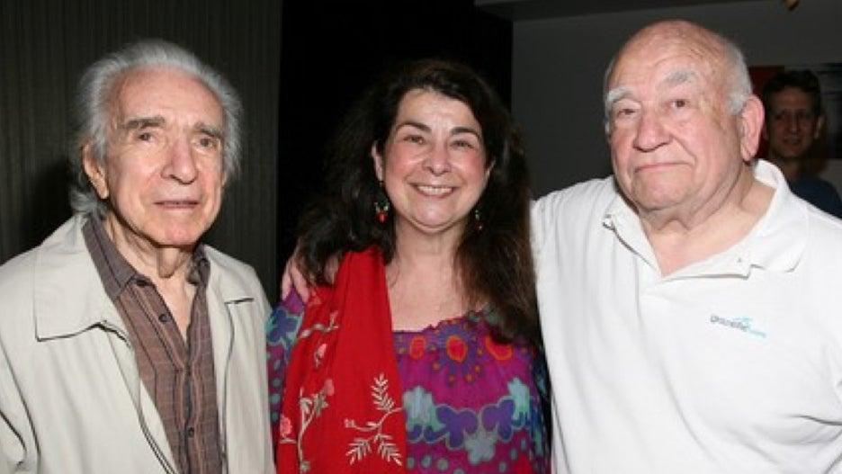 director Arthur Hilller, Aviva Kempner, and actor Ed Asner