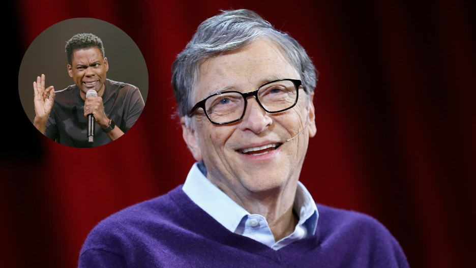 Bill Gates Chris Rock