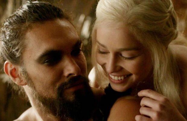 Game of Thrones Jason Momoa Emilia Clarke