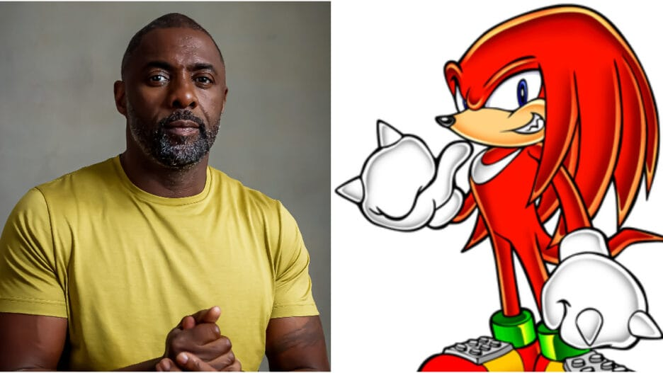 Idris Elba Knuckles Sonic the Hedgehog 2
