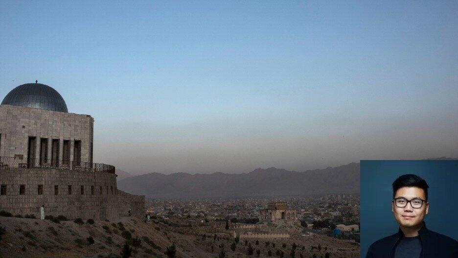 Kabul Skyline / LA Times Marcus Yam