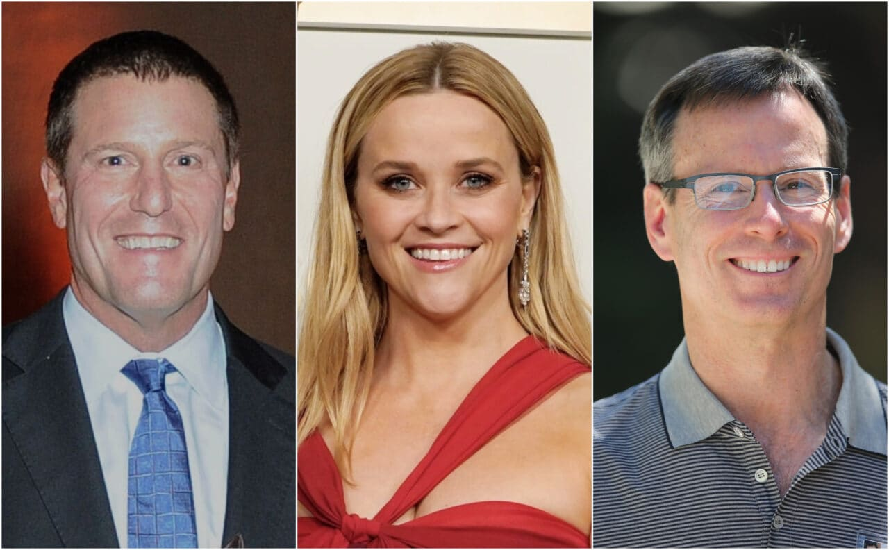 Kevin Mayer Reese Witherspoon Tom Staggs