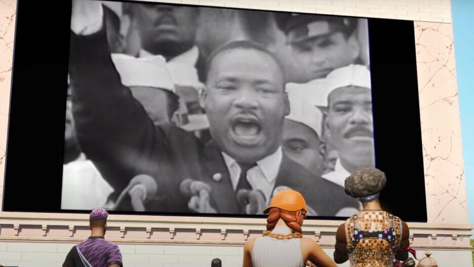 MLK Fortnite