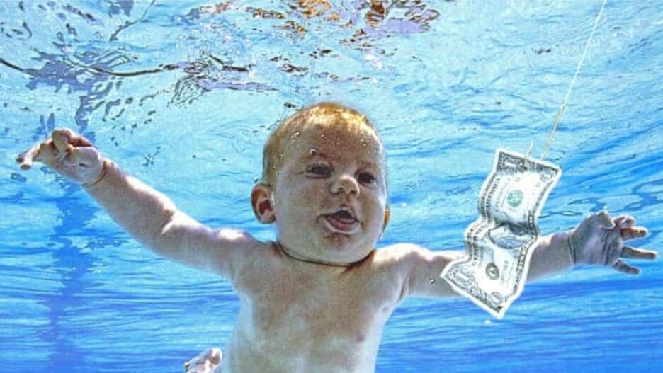 Nevermind Cover Baby