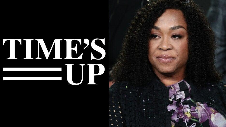 Shonda Rhimes Time's Up