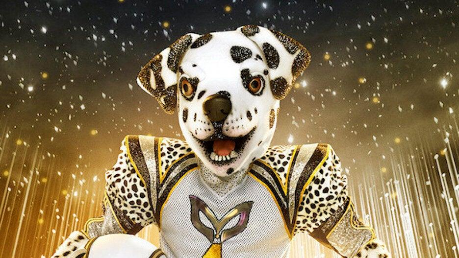 THE MASKED SINGER: Dalmatian. CR: Michael Becker / FOX. ©2021 FOX Media LLC